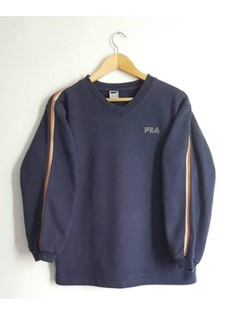 80 Percents Cotton Sweatshirt Fila Vintage 90s Size S (Xs/S). by Etsy