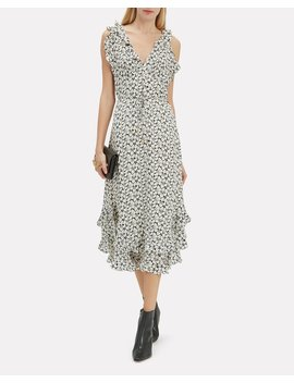 Ruffle Floral Midi Dress by Zimmermann