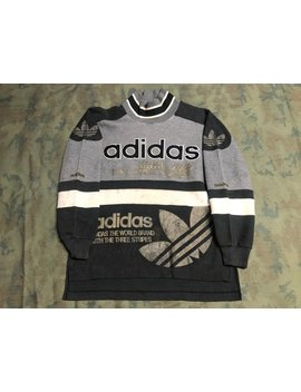 Vintage 80s Adidas Sweater Size M by Etsy