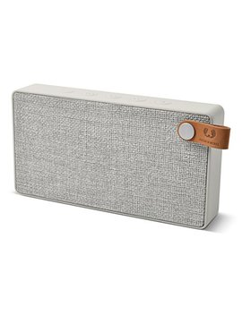 Fresh 'n Rebel 1 Rb2500 Cl Rockbox Slice Fabriq Edition Cloud   Bluetooth / Wireless Fabric Stereo Speaker With 10 Hour Rechargeable Battery by Fresh ´N Rebel