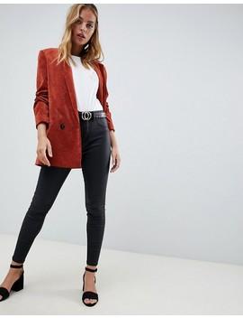 New Look Petite   Jean Skinny Enduit Style Disco by New Look Petite