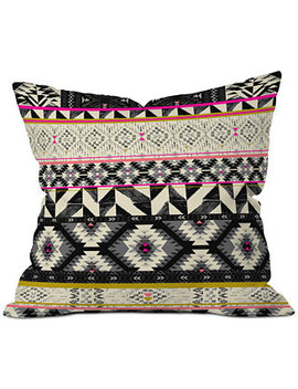 Pattern State Alpine Throw Pillow by Deny Designs