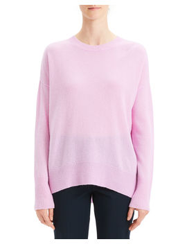 Karenia Cashmere Crewneck Pullover Sweater by Theory