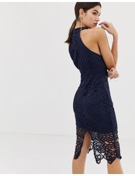Girl In Mind Lace Midi Dress by Dress