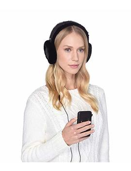 All Weather Water Resistant Sheepskin Earmuff With Tech Option by Ugg