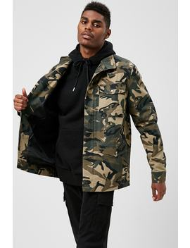 Camo Print Jacket by Forever 21