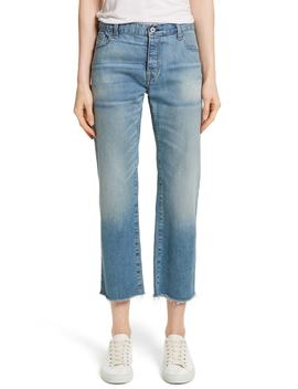 Raw Edge Crop Boyfriend Jeans by Nili Lotan