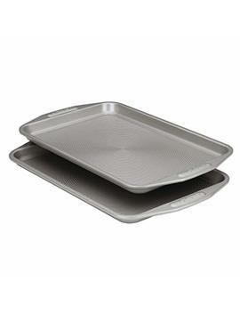 Circulon Nonstick Bakeware 2 Piece Bakeware Set, Gray by Circulon
