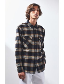 Brixton Bowery Plaid Flannel Shirt by Pacsun
