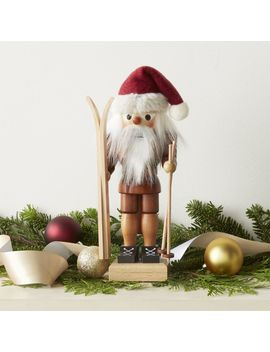 Skier Nutcracker by Crate&Barrel