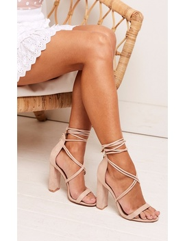 Billini   Lyra Heels In Blush Micro by Showpo Fashion