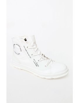 Converse Chuck Taylor Hi Gore Tex® White High Top Shoes by Pacsun