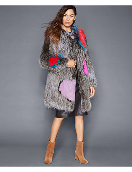 Knitted Fox Fur Coat by The Fur Vault