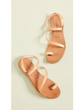 Crescent Strappy Sandals by Cocobelle