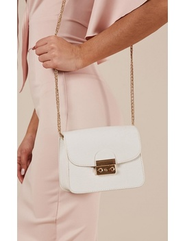 What I Want Bag In White by Showpo Fashion