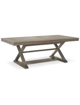 Rachael Ray Highline Expandable Trestle Dining Table by Rachael Ray Highline Expandable Trestle Dining Furniture Collection