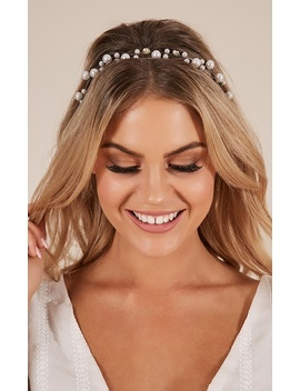 Your Calling Headband In Pearl by Showpo Fashion