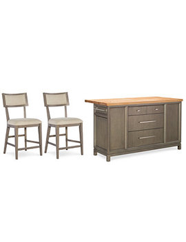 Rachael Ray Highline  Home Kitchen Island 3 Pc. Set by Rachael Ray Highline  Kitchen Island Home Collection