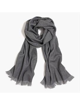 Herringbone Scarf by J.Crew