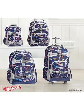 Mackenzie Gray Blue Hot Wheels®; Backpacks by Pottery Barn Kids