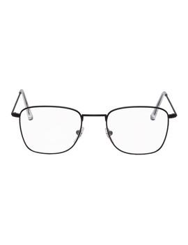 Black Numero 50 Glasses by Super