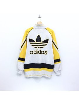 Rare!!! Vintage 90's Adidas Jacket Adidas  Multicolors Spellout Multicolors Big Logo L Embroidery by Etsy