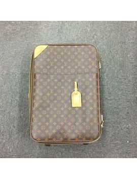 Authentic Louis Vuitton Monogram Pegase 45 M23293 Travel Carry Bag by Louis Vuitton