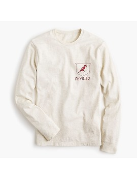 J.Crew Mercantile Cardinal Graphic Long Sleeve T Shirt by J.Crew
