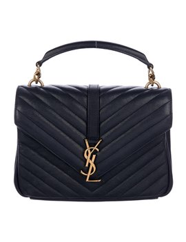 Monogram Collegé Bag by Yves Saint Laurent