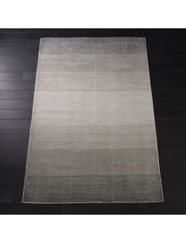 Equinox Grey Ombre Rug 5'x8' by Crate&Barrel