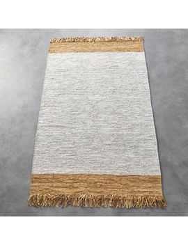 Natural Leather Dressage Rug 5'x8' by Crate&Barrel