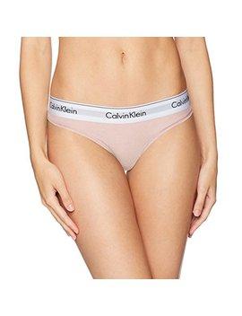 Calvin Klein Women's Modern Cotton Thong Panty by Calvin Klein