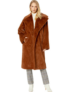 Oversized Faux Fur Coat Bonded To Menswear by Avec Les Filles