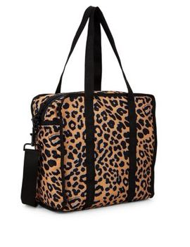 Medium Gabrielle Box Leopard Print Crossbody Bag by Lesportsac