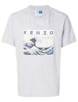 Hokusai Wave T Shirt by Kenzo