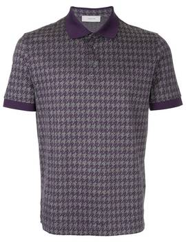 Houndstooth Polo Shirt by Cerruti 1881