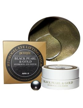 *Petitfee* Blackpearl&Gold Hydrogel Eyepatch. Eye Patch60ea by Petitfee