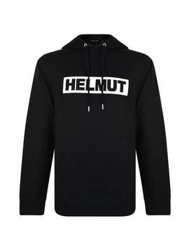 Logo Hooded Sweatshirt by Helmut Lang