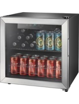 48 Can Beverage Cooler   Stainless Steel/Silver by Insignia™