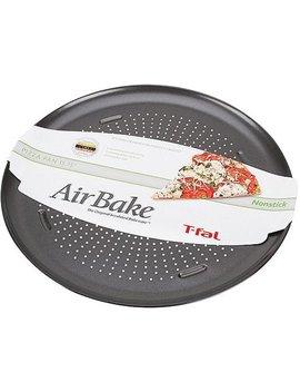 "T Fal Air Bake Non Stick Pizza Pan, 15.75"" by T Fal"