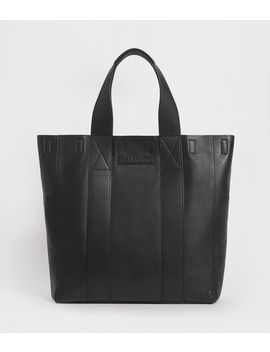Holt Leather Tote Bag by Allsaints