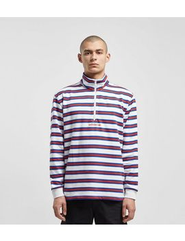 Adidas Originals St. Peter Half Zip Sweatshirt   Size? Exclusive by Adidas Originals