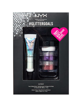 Four Piece Glitter Goals Set by Nyx