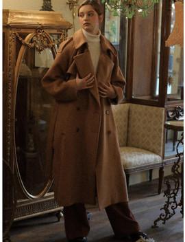 Lv Trench Coat Beige by Lartigent
