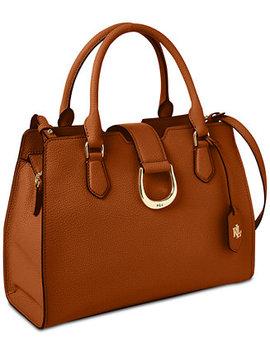 Kenton Leather Satchel, Created For Macy's by Lauren Ralph Lauren