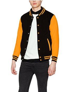 Aw Dis Men's Electric Varsity Jacket by Aw Dis