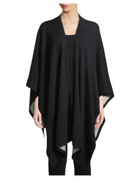 Cashmere Two Tone Shawl Wrap by Neiman Marcus Cashmere Collection