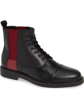Dameon Lace Up Boot by Calvin Klein