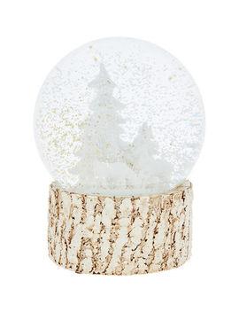 Winter Wonderland Snow Globe 14x16cm by
