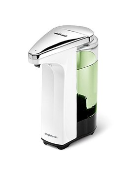 Simplehuman Compact Sensor Pump With Sample Soap, White, 8oz by Simplehuman